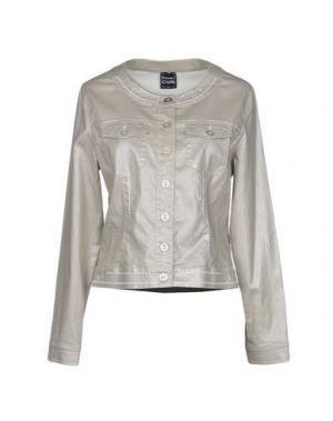 Куртка PAUSE CAFÉ. Цвет: серый