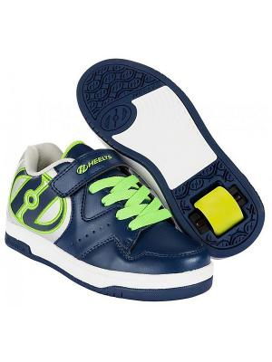 Роликовые кроссовки HYPER 770543 (4) Heelys. Цвет: синий, белый