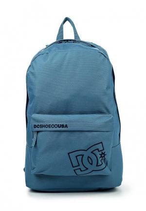 Рюкзак DC Shoes. Цвет: голубой
