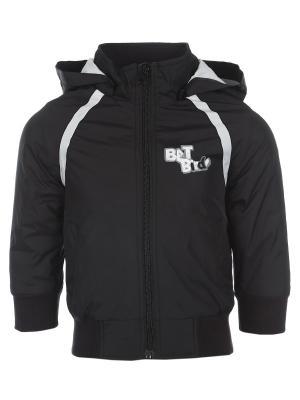 Куртка Born. Цвет: черный, молочный