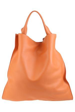 Сумка-мешок Jil Sander. Цвет: рыжий