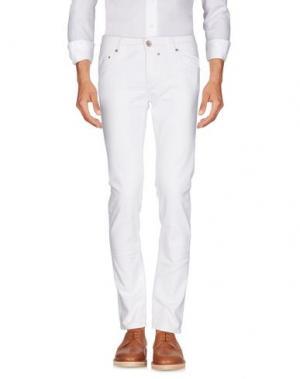 Повседневные брюки ZERO. Цвет: белый