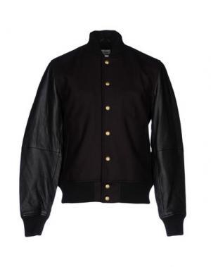 Куртка CLUB MONACO. Цвет: красно-коричневый