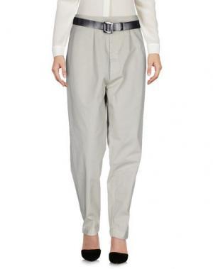 Повседневные брюки JEANPAUL KNOTT. Цвет: светло-серый
