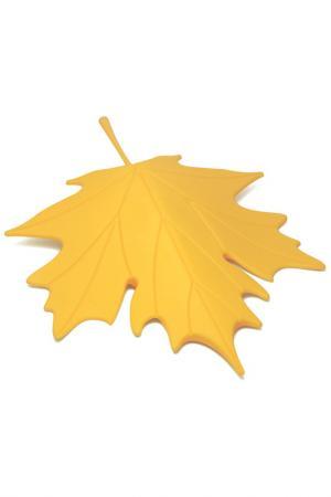 Подпорка для двери Autumn Qualy. Цвет: желтый