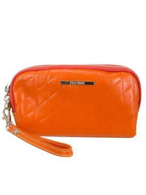 Косметичка Piacere. Цвет: оранжевый