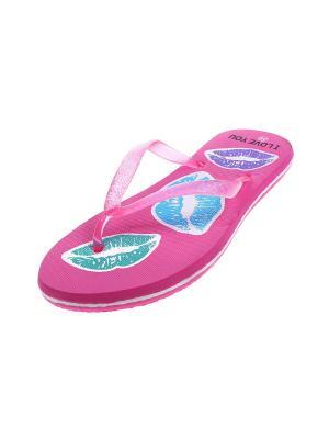 Шлепанцы Migura. Цвет: розовый, голубой, фиолетовый