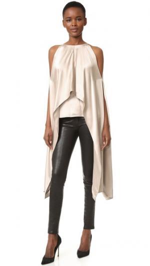 Блуза-накидка KAUFMANFRANCO. Цвет: имбирный морозный