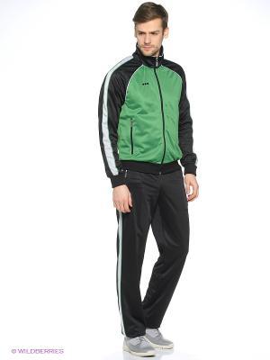 Спортивный костюм ADDIC. Цвет: зеленый