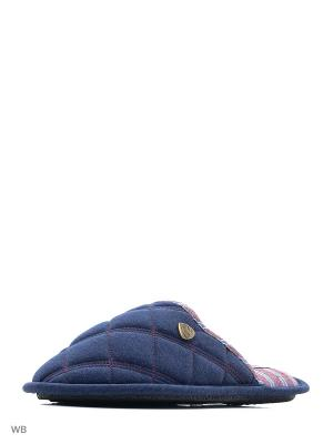 Тапочки Beppi. Цвет: темно-синий