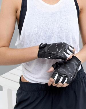 Nike Перчатки Training. Цвет: черный