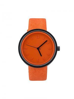 Часы наручные Feifan. Серия Deeper Feifan. Цвет: светло-оранжевый