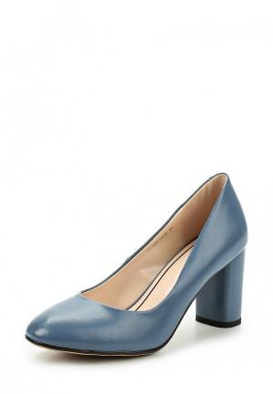 Туфли Zenden Woman. Цвет: голубой