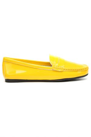 Мокасины Vitacci. Цвет: желтый