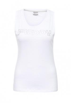 Майка спортивная Freddy. Цвет: белый