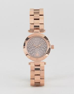 Vivienne Westwood Золотистые наручные часы VV092CHRS. Цвет: серебряный