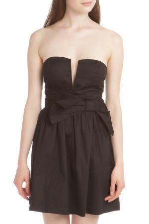 Платье TRAC. Цвет: black