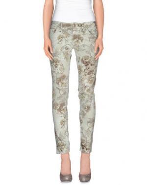 Повседневные брюки NINE:INTHE:MORNING. Цвет: светло-зеленый