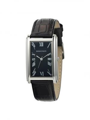 Часы TL0110MM Romanson. Цвет: черный, серебристый