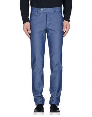 Джинсовые брюки PIATTO. Цвет: лазурный