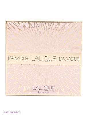 Парфюмерная вода L AMOUR DE LALIQUE 50 мл cпрей. Цвет: розовый