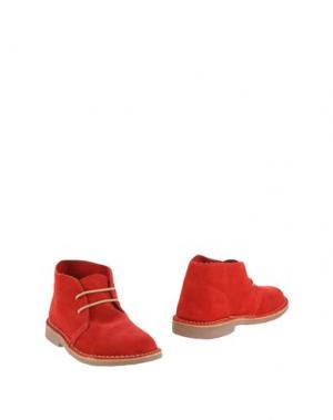 Полусапоги и высокие ботинки KENT. Цвет: красный