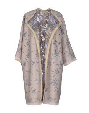 Легкое пальто CARLO CONTRADA. Цвет: телесный