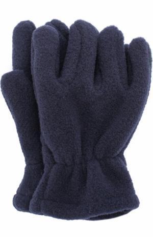 Текстильные перчатки Catya. Цвет: синий