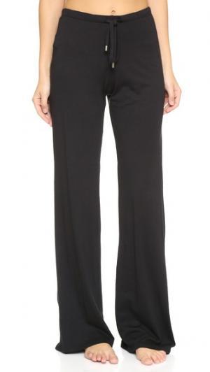 Широкие брюки с завязками Yummie by Heather Thomson. Цвет: голубой