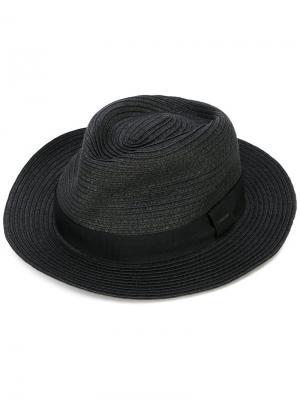 Тканая шляпа Diesel. Цвет: чёрный