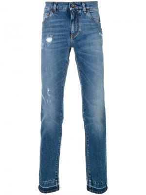 Расклешенные джинсы Dolce & Gabbana. Цвет: синий