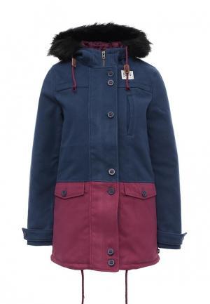 Куртка утепленная Animal. Цвет: синий