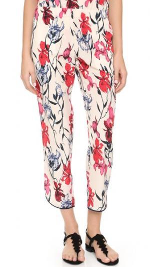 Укороченные брюки Thakoon. Цвет: розовый мульти