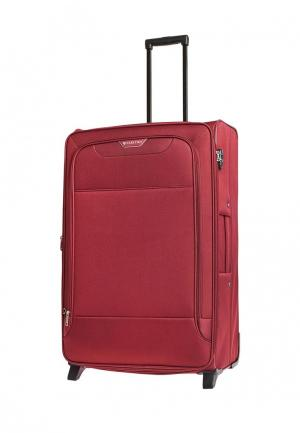 Чемодан 105л (L) Carlton. Цвет: красный