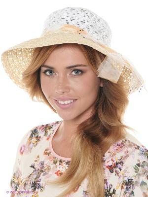 Шляпа FOMAS. Цвет: желтый, белый