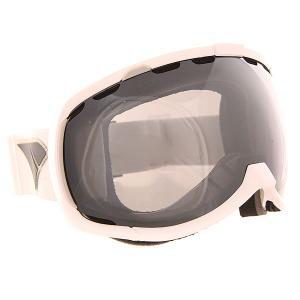 Маска для сноуборда  Bomber Icon Wht Silver/Mir/Smoke I/S Eyewear. Цвет: белый