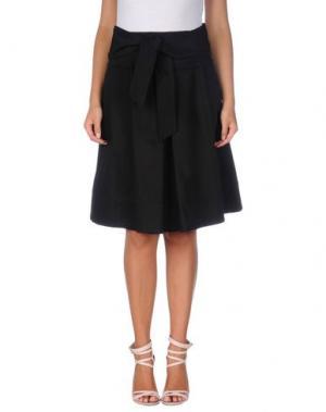 Юбка до колена SHI 4. Цвет: черный