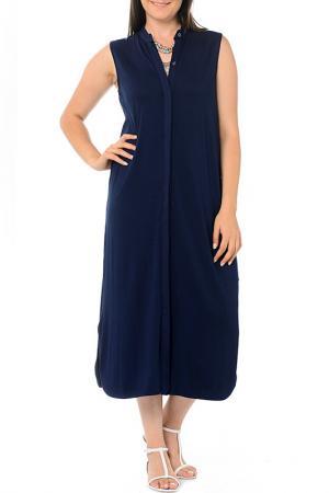 Платье Milanesse. Цвет: синий