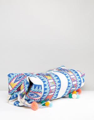 America & Beyond Фестивальная разноцветная сумка-хобо. Цвет: мульти