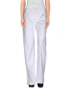 Повседневные брюки GAI MATTIOLO JEANS. Цвет: белый