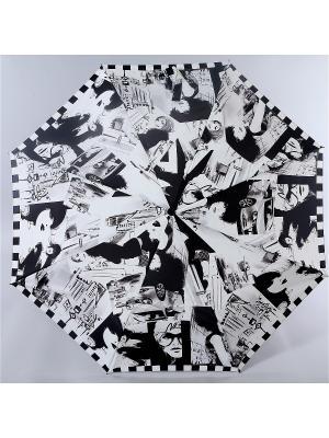 Зонт Zest. Цвет: белый, серый, черный