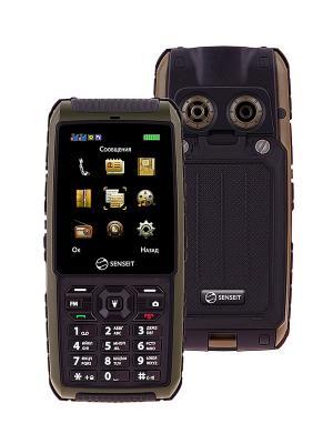Телефон SENSEIT P101. Цвет: зеленый