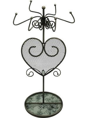 Подставка для украшений  Эскиз JARDIN D'ETE. Цвет: черный, белый