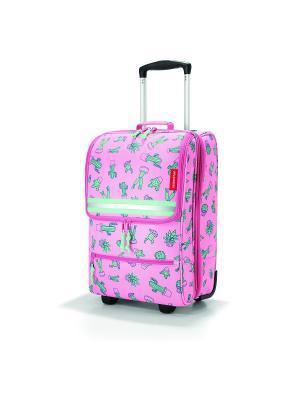 Чемодан детский Trolley XS cactus pink Reisenthel. Цвет: розовый