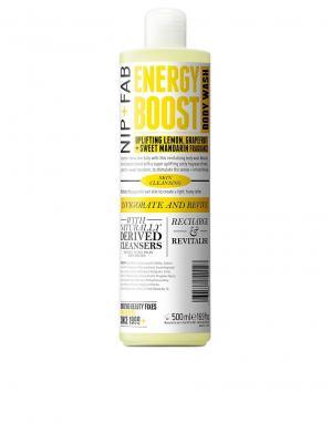 Nip+Fab Гель для душа Energy Boost 500 мл. Цвет: бесцветный