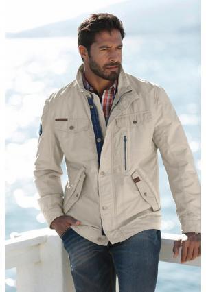 Куртка MANS WORLD MAN'S. Цвет: бежевый