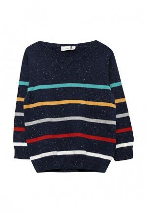 Пуловер Name It. Цвет: синий