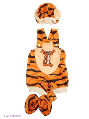 Карнавальный костюм Тигруля Батик. Цвет: рыжий