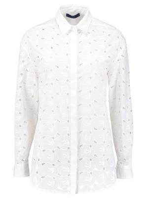 Рубашка Blue les Copains. Цвет: белый