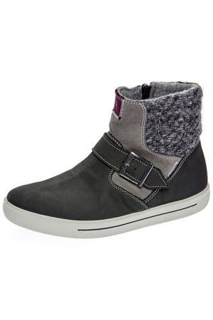 Ботинки Ricosta. Цвет: серый